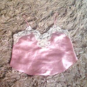 Vintage Victoria's Secret silky cami